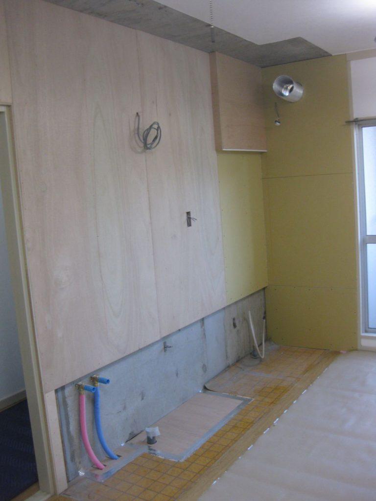 旧キッチン撤去